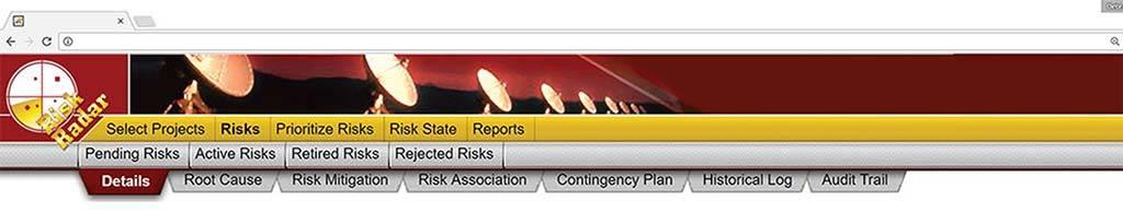 Risk Radar Dashboard